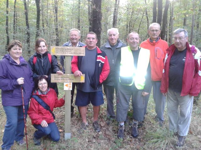 1/2 Marche en forêt de Riaillé le 18/10/2013