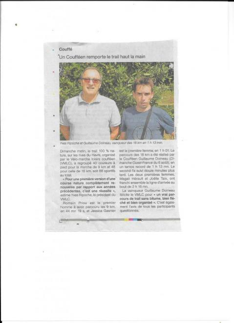 Article Ouest France